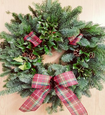 Decorated 10 inch Wreath